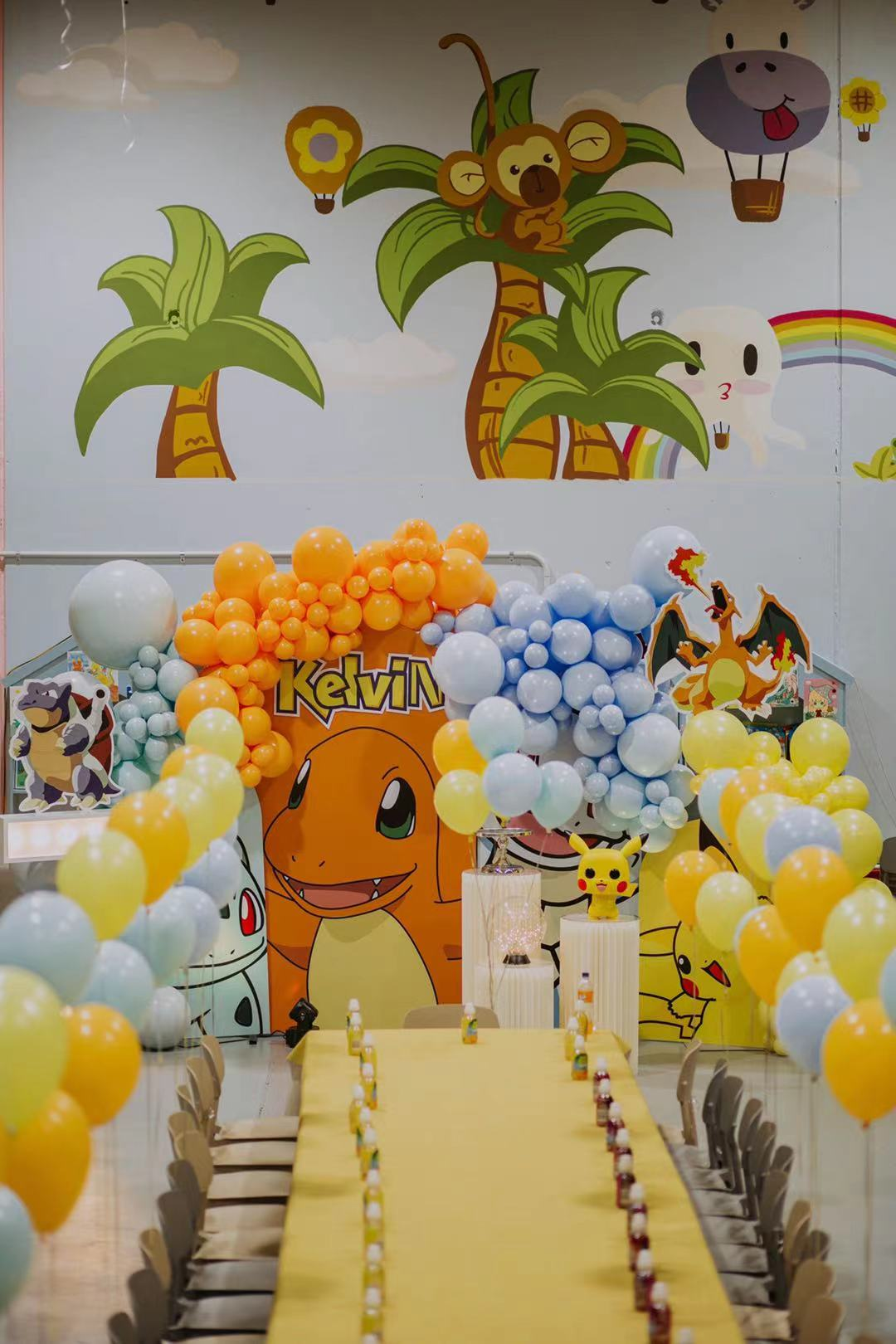 Pokemon Birthday // Hire and Styling by Luxe Dream