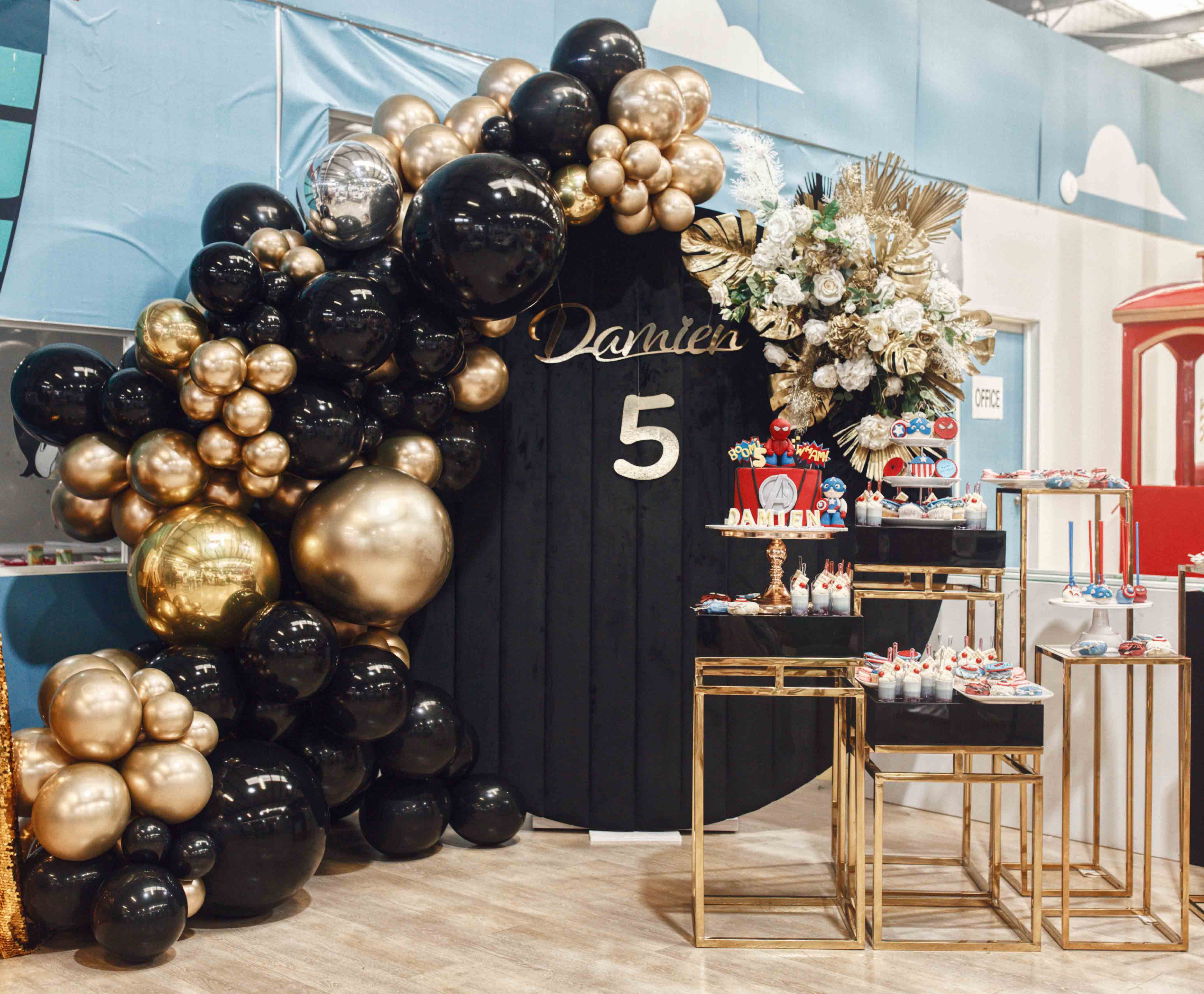 Styling and Hire by Luxe Dream / Florals by Luxe Dream Floral Studio /  Balloons by GEM Balloons