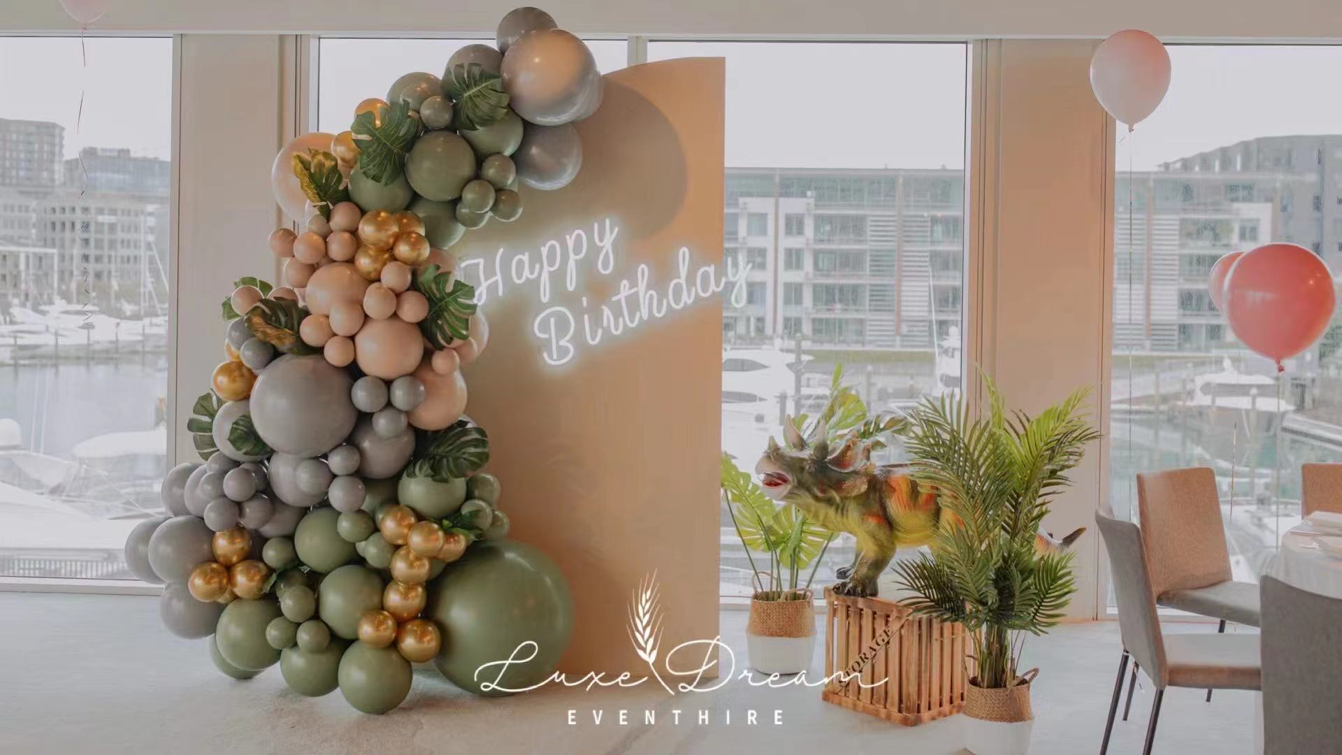 Mini Dino Party // Styling and Hire by Luxe Dream