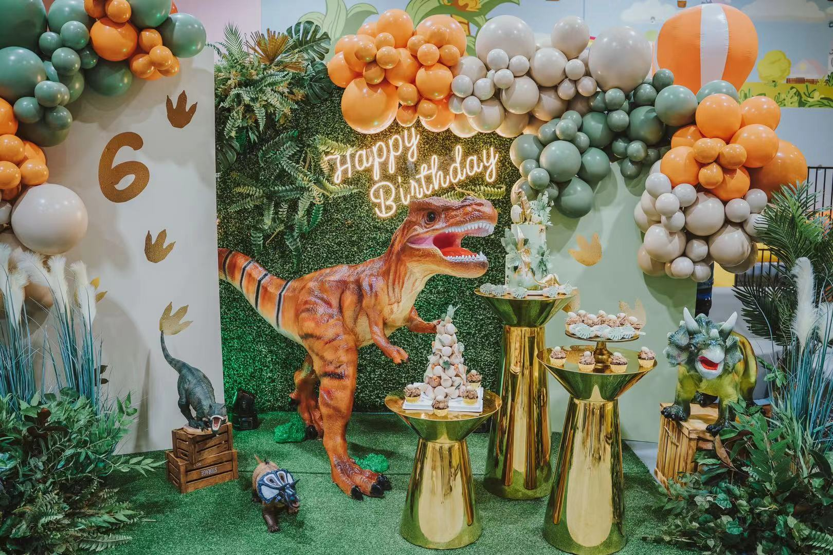 Dinosaur Party // Styling and Hire by Luxe Dream