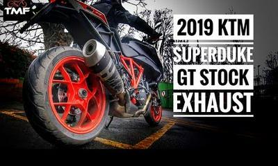 2019 KTM Super Duke GT Stock Exhaust Sound