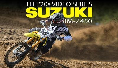 2020 SUZUKI RMZ450: THE '20s VIDEO SERIES