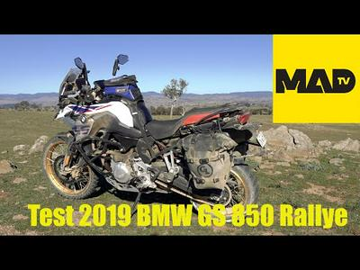 Review 2019 BMW GS 850 Rallye - AdventureMoto