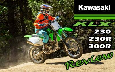 Kawasaki 2020 KLX 230, KLX230R and KLX300R Review