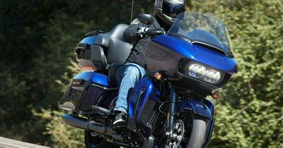 2020 Harley Road Glide Limited First Ride https://t.co/n88v8K7g80...