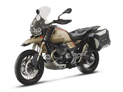2020 Moto Guzzi V85 TT Travel First Look Preview