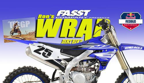 FIRST RIDE: 2019 YAMAHA YZ450F–THE WRAP