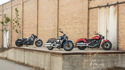 Indian Motorcycle's 2019 Scout Models Preview