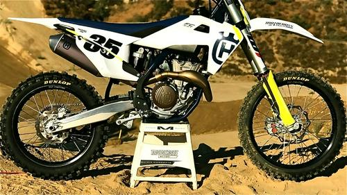 MXA FIRST RIDE VIDEO: THE 2019 HUSQVARNA FC350 IS NOT TOO MUCH OR TOO LITTLE