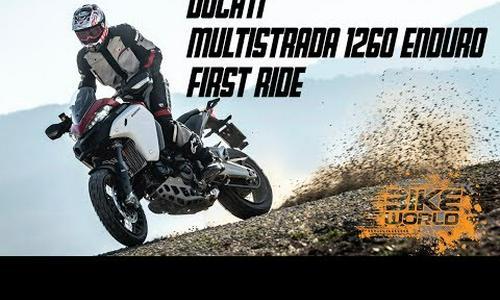 2019 Ducati Multistrada 1260 Enduro First Ride