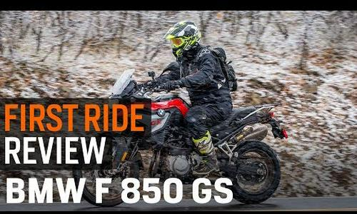 2019 BMW F 850 GS First Ride Review