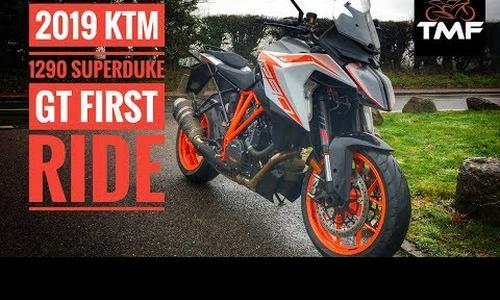 2019 KTM 1290 Super Duke GT Review