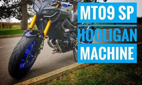2018 Yamaha MT-09 SP Review