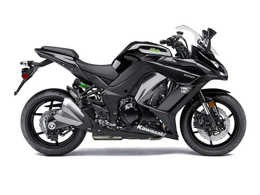 2015 Kawasaki Ninja 1000 ABS with bags - ONLY ~855 miles!