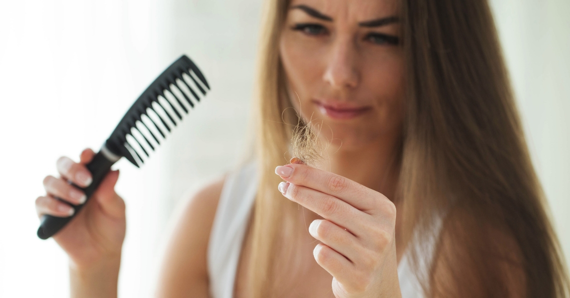 5 Signs That Stress Is Causing Your Hair Loss and 5 Ways to Fight It