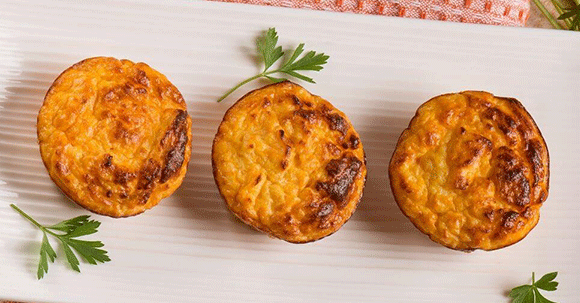 Fight Inflammation With These Fun, Easy Sweet Potato Turmeric Muffins