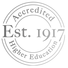 Accredited Higher Education - Est. 1917