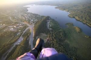Взгляд с высоты птичьего полёта. Пряжинский район Республики Карелия