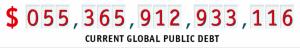Общая государственная задолженность стран планеты