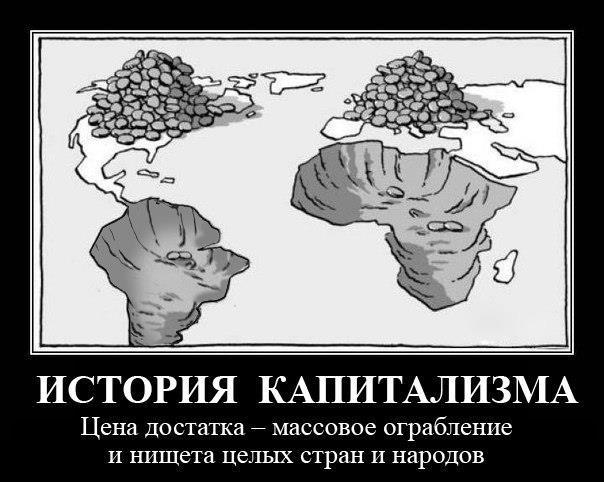 История капитализма как процесс беспрерывного грабежа стран «третьего мира»