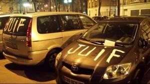 """Le suspect a peint le mot """"Juif"""" sur une vingtaine de véhicules"""