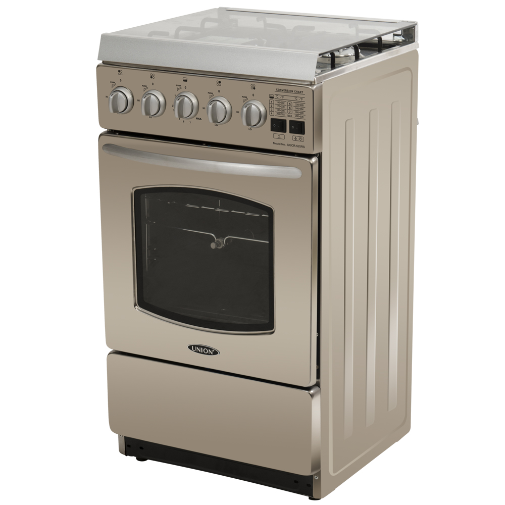 UGCR-525RS. In Stock. STAINLESS GAS RANGE WITH ROTISSERIE