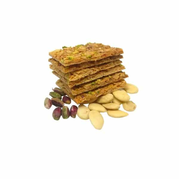 Almonds and Pistachios Crunchy sheets