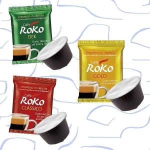 Coffee tasting box in capsules compatible DolceGusto