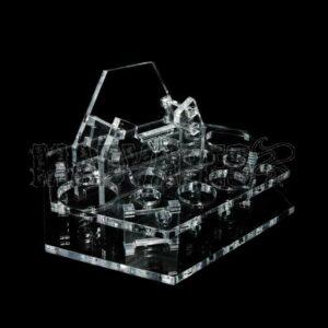 Clear Acrylic VTR Display