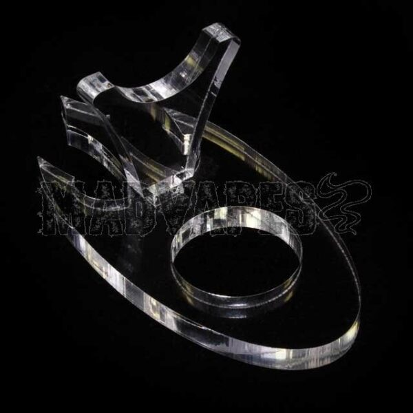 Clear Acrylic Diablo e-Pipe Stand