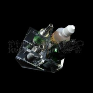 Clear Acrylic RDA/E-Liquid Display