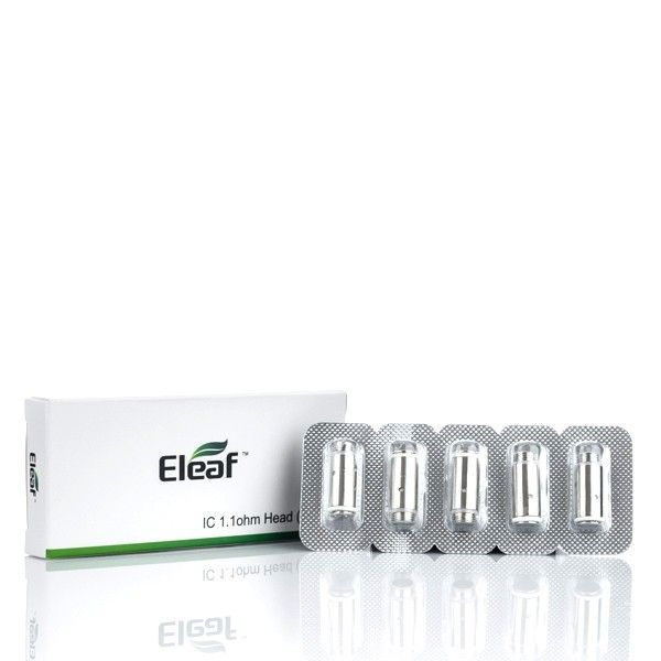 Eleaf iCare Replacement Coils, 1.1 Ohm, 5 Pack