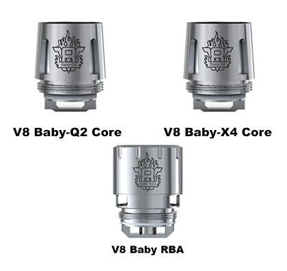 SmokTech V8 Baby Beast Replacement Coil, 5 Pack