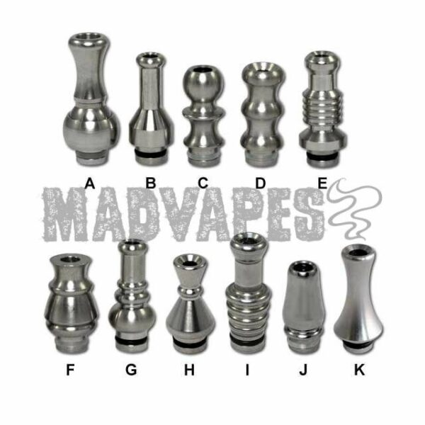 Stainless Steel Drip Tips