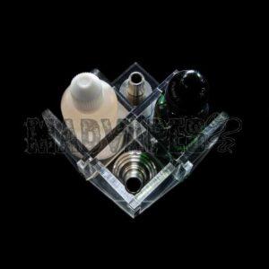 Clear Acrylic RDA/E-Liquid Display