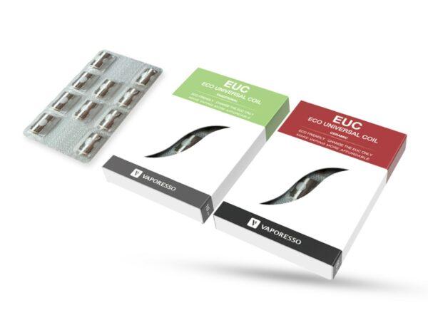 Vaporesso EUC Replacement Coils, 5 Pack