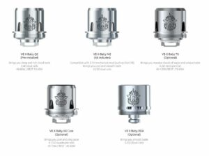 Smok TFV8 X-Baby Replacement Coils, 3 Pack