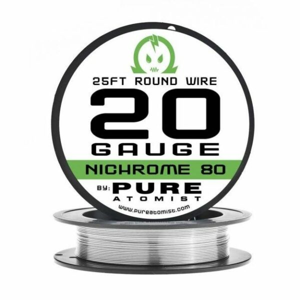 Pure Atomist, Nichrome 80 Wire, 25ft