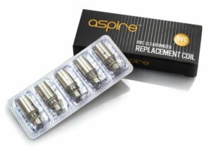 Aspire BVC Replacement Coils, 5 Pack