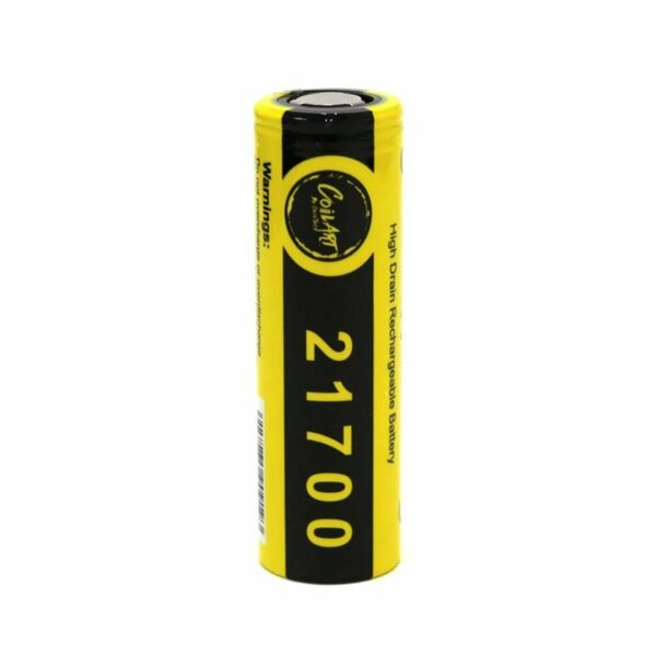 CoilArt 21700 Battery, 40A, 4000mAh, Flat Top