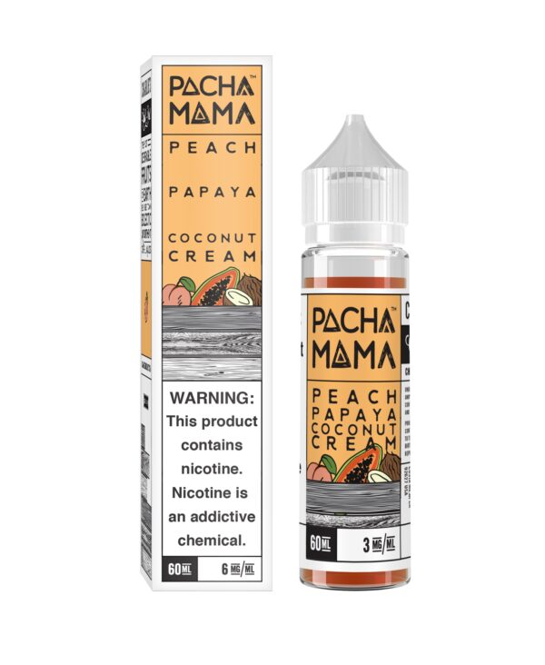 Pachamama, Peach Papaya Coconut Cream