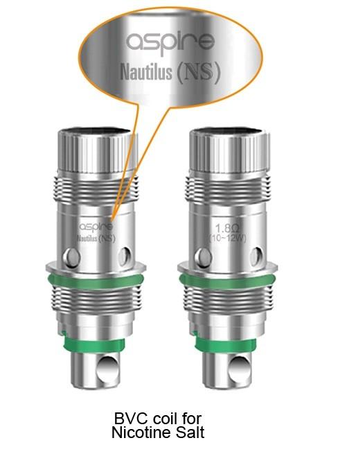 Aspire Nautilus AIO Replacement Coils, 5 Pack