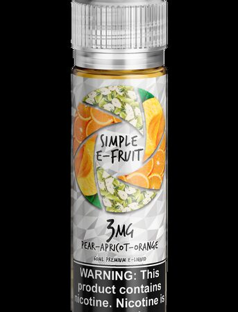 Simple E-fruit, Pear Apricot Orange