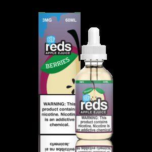 Reds Apple Juice, Berries Iced