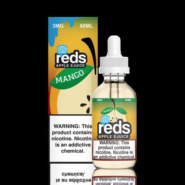 Reds Apple Juice, Mango Iced