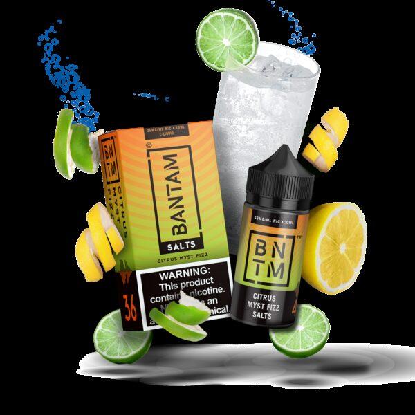 Bantam Vape Salts, Citrus Myst Fizz
