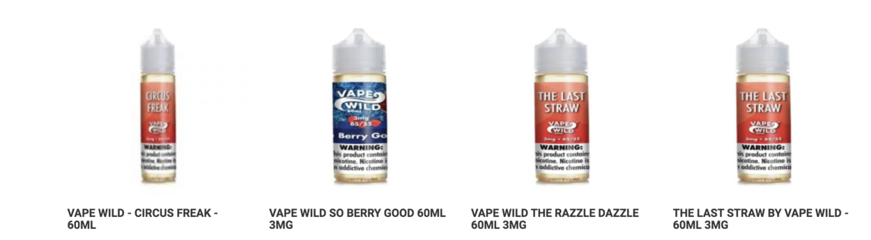VapeWild Blue Berry