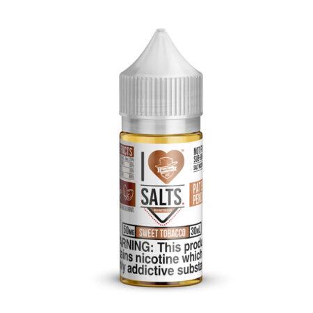 I Love Salts - Sweet Tobacco 30ml Bottle | MadVapes