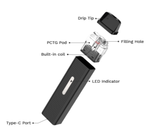 Vaporesso Xros Mini Components