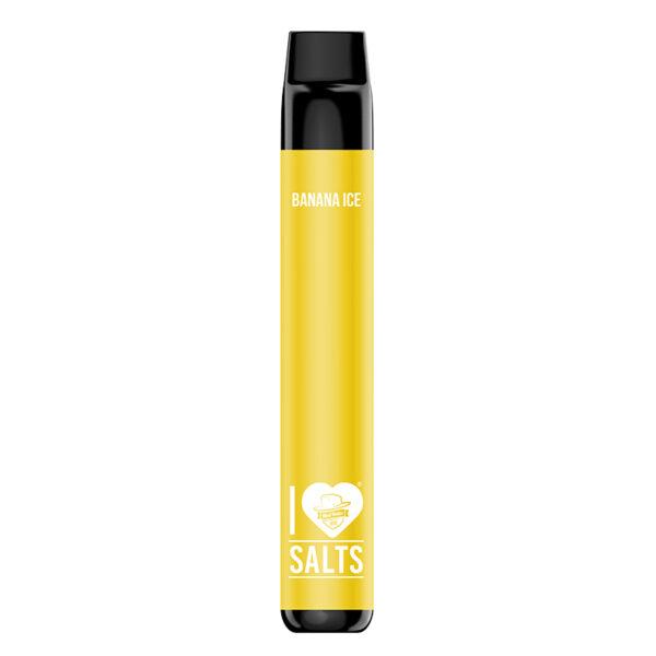 I Love Salts Disposable - Banana Ice